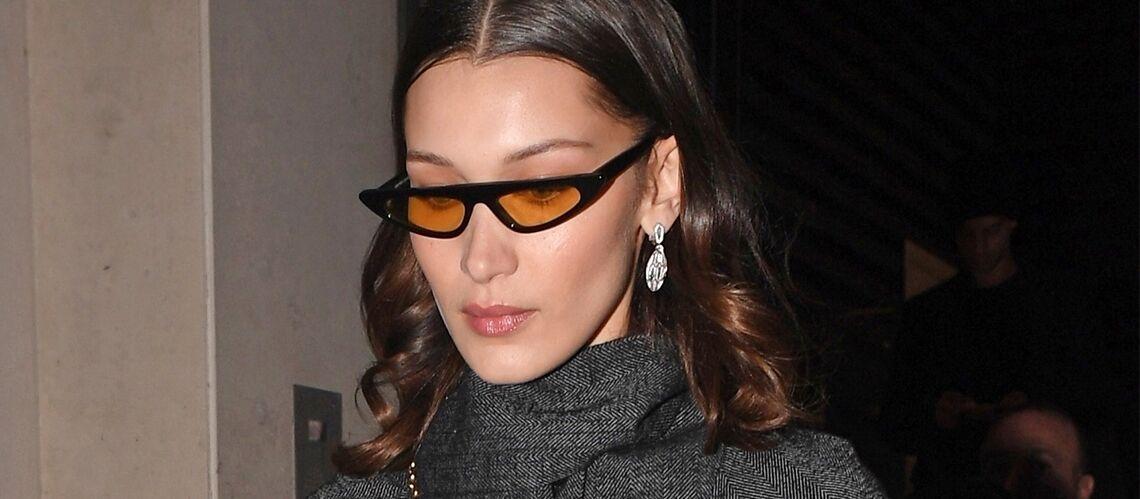 2bdfc9e6db2a79 PHOTOS – 10 paires de lunettes « cat-eye » ultra tendance à adopter comme  celles de Rihanna ou Bella Hadid - Gala