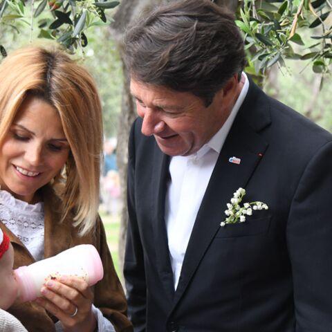 PHOTOS – Laura Tenoudji et Christian Estrosi: moment câlin avec leur petite Bianca