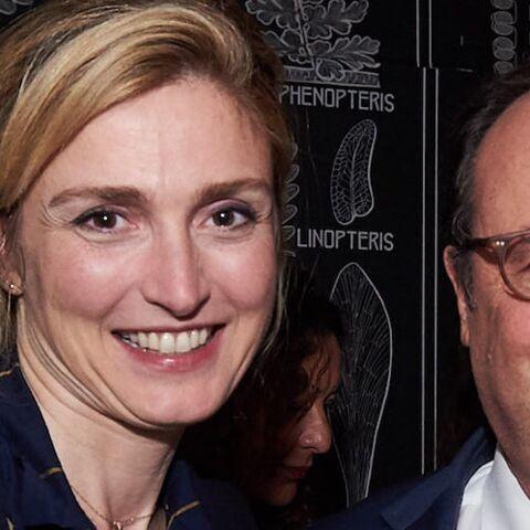 Le gros câlin de François Hollande et Julie Gayet devant les caméras