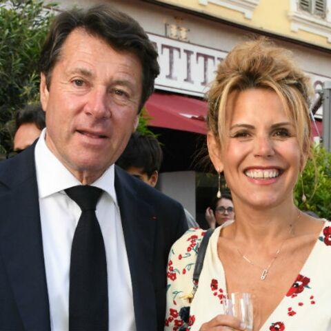 PHOTOS – Laura Tenoudji radieuse en chignon flou sophistiqué à Nice avec son mari Christian Estrosi