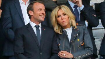 PHOTOS – Brigitte Macron, supportrice de choc avec le président durant la Coupe de France