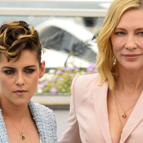 PHOTOS – Cannes 2018 Le regard de Kristen Stewart pour Cate Blanchett qui titille la toile