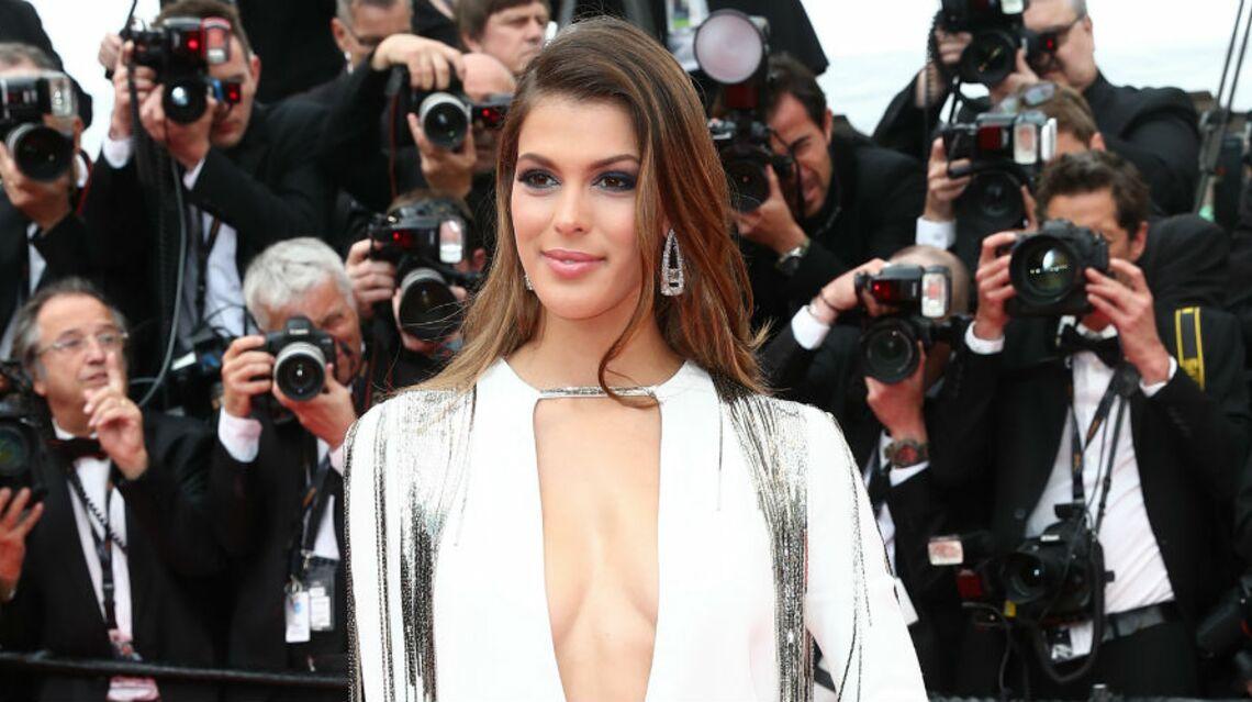 PHOTOS – Cannes 2018: Iris Mittenaere, en robe fendue et décolleté plongeant, affole la Croisette