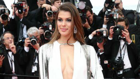 1e76d774391e11 PHOTOS – Cannes 2018: Iris Mittenaere, en robe fendue et  dé