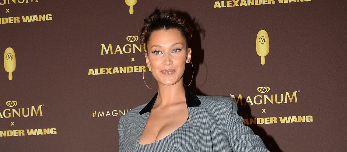PHOTOS – Bella Hadid enflamme la soirée Magnum avec un look working girl très sexy