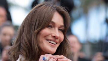 PHOTOS – Carla Bruni, radieuse et si élégante sur les marches du festival de Cannes