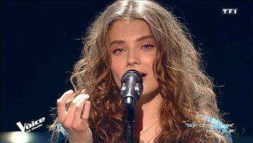 Maëlle gagnante de The Voice :
