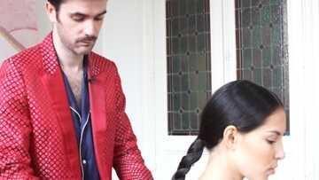 VIDEO – Tuto coiffure spécial Cannes: la tresse indienne de Juliette Binoche par Alexandry Costa