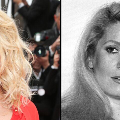 PHOTOS – Alice Taglioni, sa ressemblance bluffante avec Catherine Deneuve lui offre un joli rôle