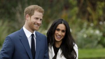 PHOTOS – Harry et Meghan Markle tout sourires pour leur dernière apparition avant le mariage