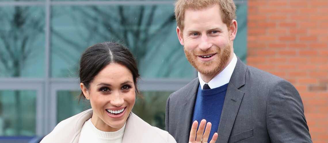 Mariage de Meghan et Harry  découvrez les titres donnés par la reine  Élisabeth II au couple , Gala
