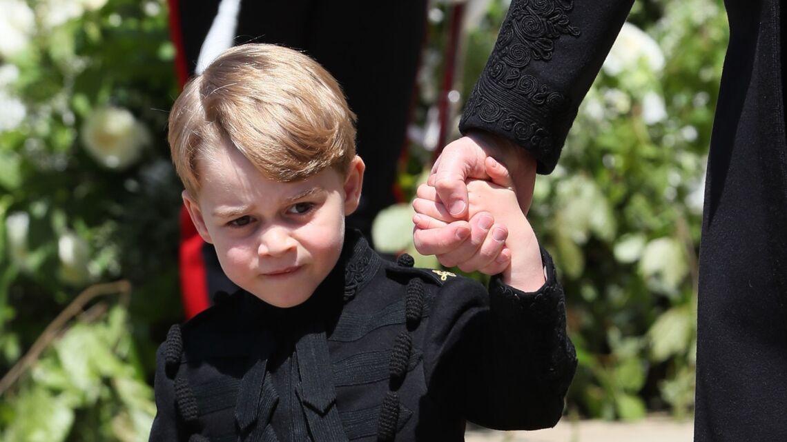 PHOTOS – Le look inattendu du prince George lors du mariage de Meghan et Harry