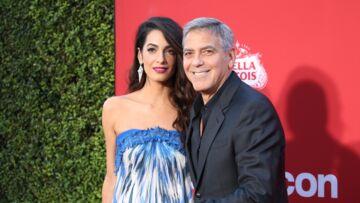 PHOTOS – Amal et George Clooney: le couple surprise du mariage de Meghan et Harry