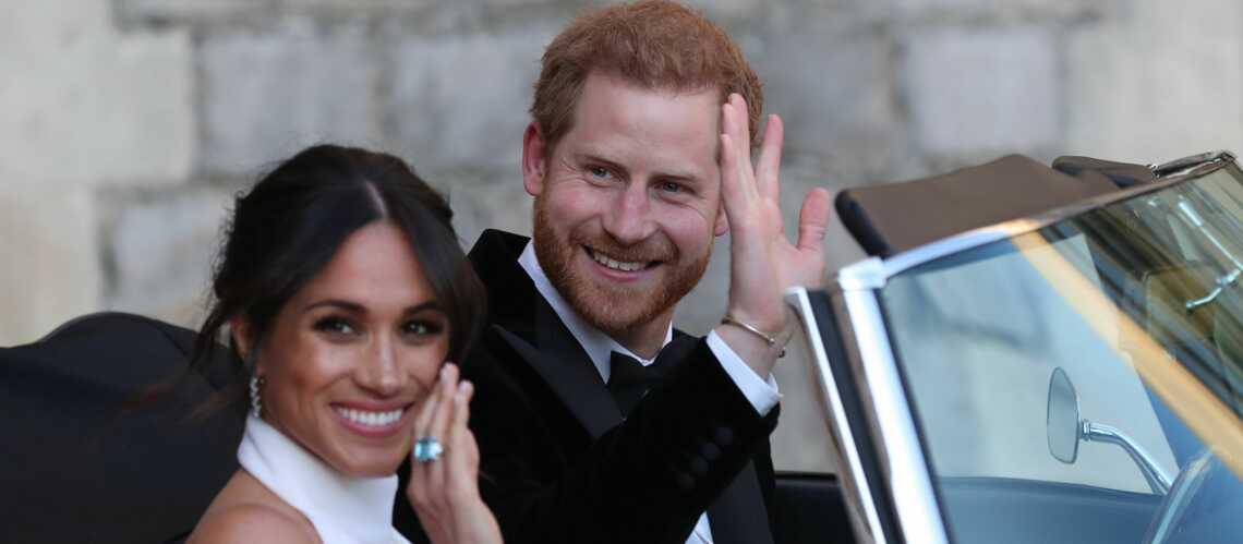 PHOTOS – Meghan Markle sublime en robe Stella McCartney avec la bague de Diana offerte par Harry!