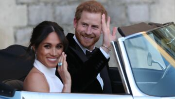PHOTOS – Meghan Markle sublime en robe Stella McCartney avec la bague de Diana offerte par Harry !