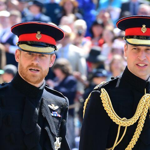 Harry et William: leur tendre pensée pour leur mère Diana lors du mariage