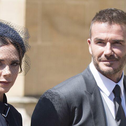 Après Victoria Beckham, le faux pas de son mari David au mariage de Meghan et Harry