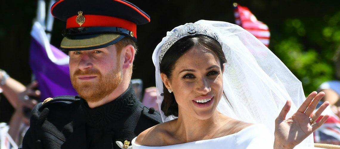 L trange soir e de mariage de meghan markle et du prince harry gala - 80 ans de mariage noce de quoi ...