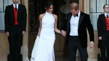 PHOTOS – Meghan Markle: pour sa soirée de mariage, elle a refait le coup du chignon flou