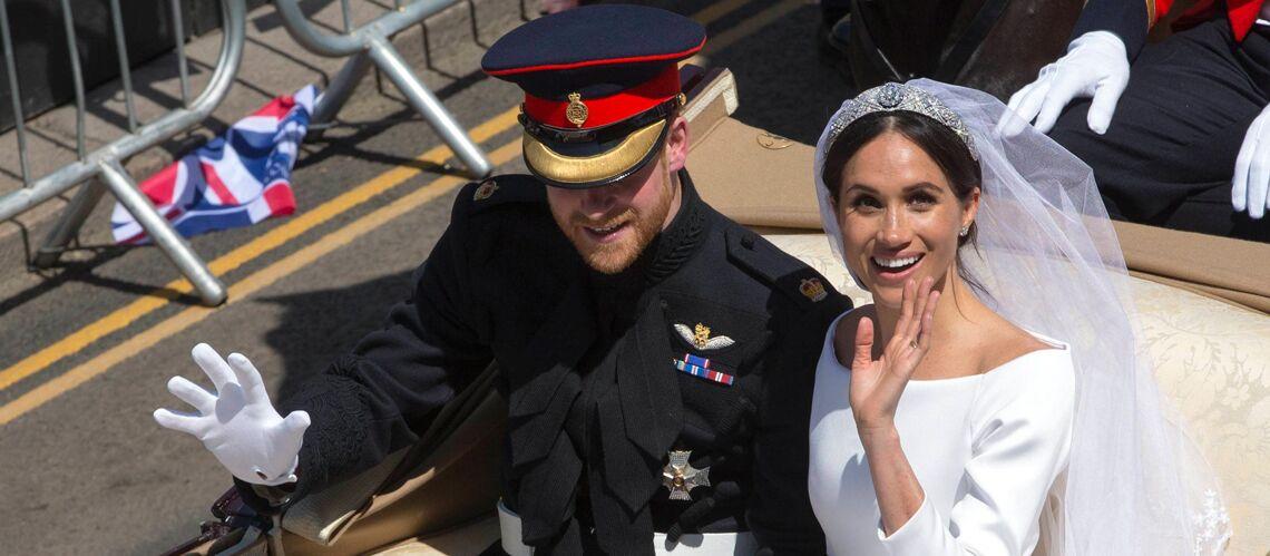 Mariage de Meghan Markle et Harry  les petits cadeaux remis aux invités  revendus à prix