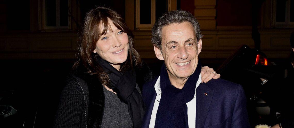 """VIDEO – Les mots d'amour de Nicolas Sarkozy pour son épouse Carla Bruni, """"bouleversante, envoûtante, divine"""""""