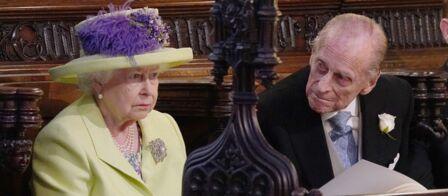 Ce moment où la reine Elisabeth II a enfin souri au mariage de Meghan et  Harry