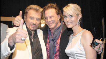 PHOTOS- Affaire Johnny Hallyday: Mickey Rourke apporte son soutien à tout le clan Hallyday