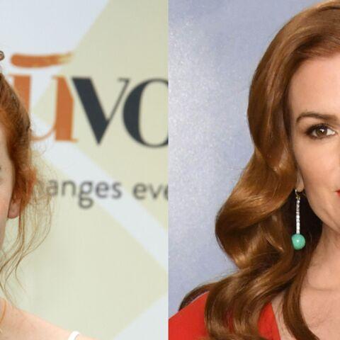 Cheveux roux: adoptez les plus belles nuances des stars comme Elodie Frégé ou Audrey Fleurot