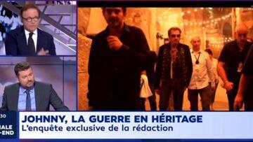 VIDEO – «Johnny Hallyday avait les bras tout minces», Guillaume Durand surpris par sa dernière rencontre avec le rockeur