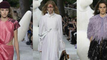 PHOTOS – Emma Stone, Sophie Turner, Camélia Jordana et Justin Theroux réunis au défilé Louis Vuitton Croisière