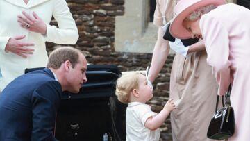 Le prince George dans les pas de sa grand-mère Elisabeth II