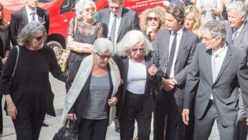 PHOTOS – Hommage à Pierre Bellemare: son fils Pierre Dhostel, Line Renaud, Michel Drucker réunis pour un adieu déchirant