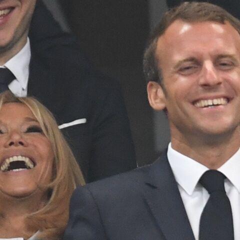 PHOTOS – Emmanuel et Brigitte Macron, morts de rire et heureux pour la finale du Top 14