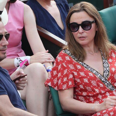 PHOTOS – Roland-Garros: Sandrine Quétier, Laurie Cholewa, elles affichent leur amour en tribunes