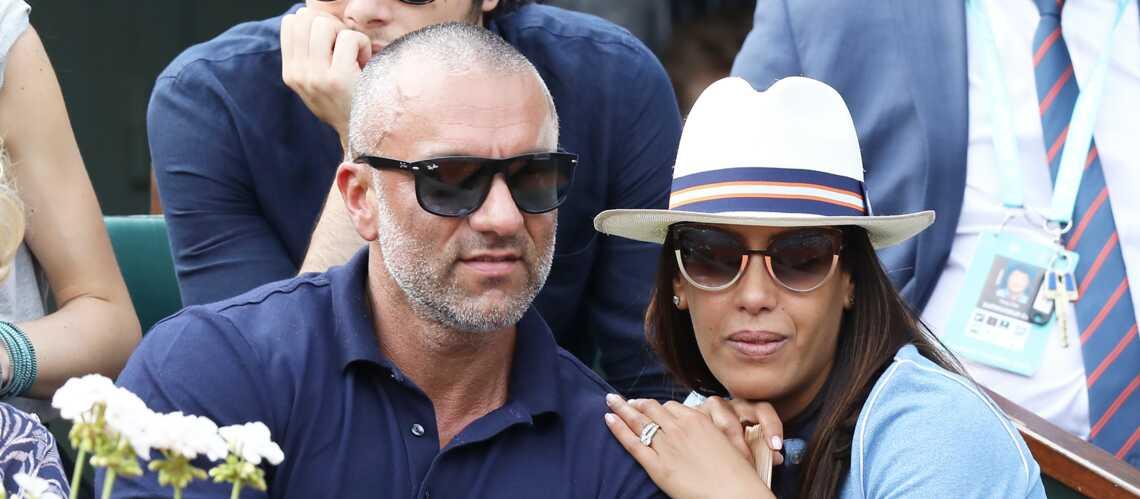PHOTOS – Amel Bent tendre et complice avec son mari Patrick Antonelli à Roland-Garros