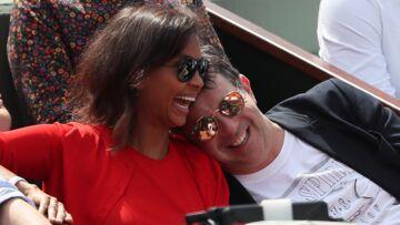 PHOTOS – Karine Le Marchand et Stéphane Plaza s'éclatent à Roland-Garros