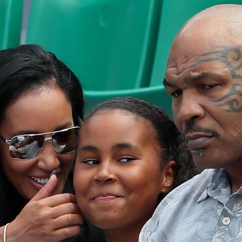 PHOTOS – Mike Tyson en famille à Roland-Garros: sa fille Milan est passionnée de tennis