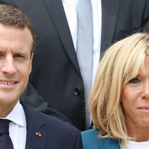 PHOTOS – Emmanuel et Brigitte Macron ont chaleureusement invité à l'Élysée un candidat de télé-réalité