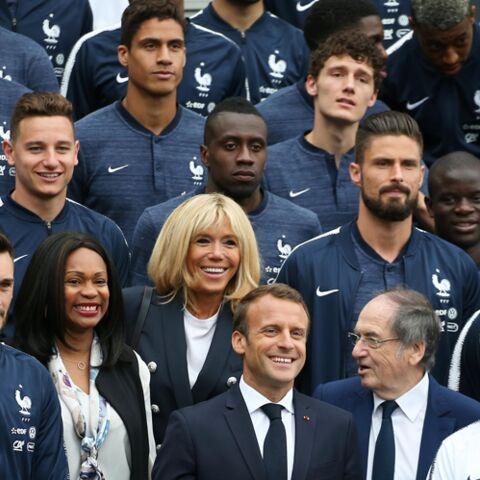 Brigitte Macron et Olivier Giroud: la belle rencontre avant la Coupe du monde