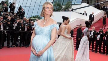 Sylvie Tellier: une future maman superactive