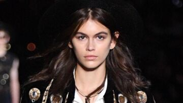 PHOTO – Kaïa Gerber : superstar du défilé Saint Laurent à New York