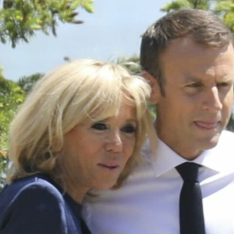 PHOTOS – Brigitte Macron, en marinière et baskets : elle change radicalement de look au G7 !