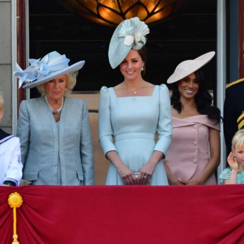 PHOTOS – Kate Middleton ultra fine deux mois après la naissance du prince Louis: elle a déjà retrouvé la ligne!
