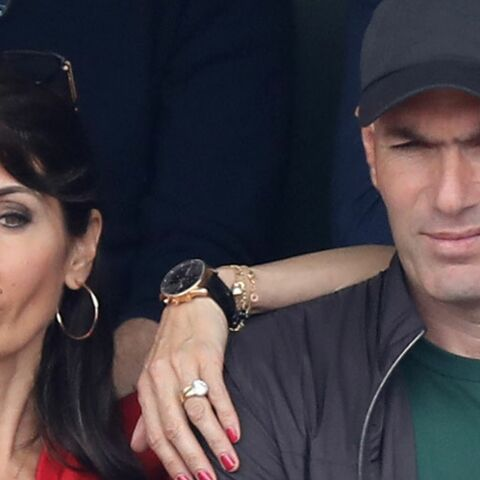 PHOTOS – Zinédine Zidane et sa femme Véronique en amoureux à Roland Garros