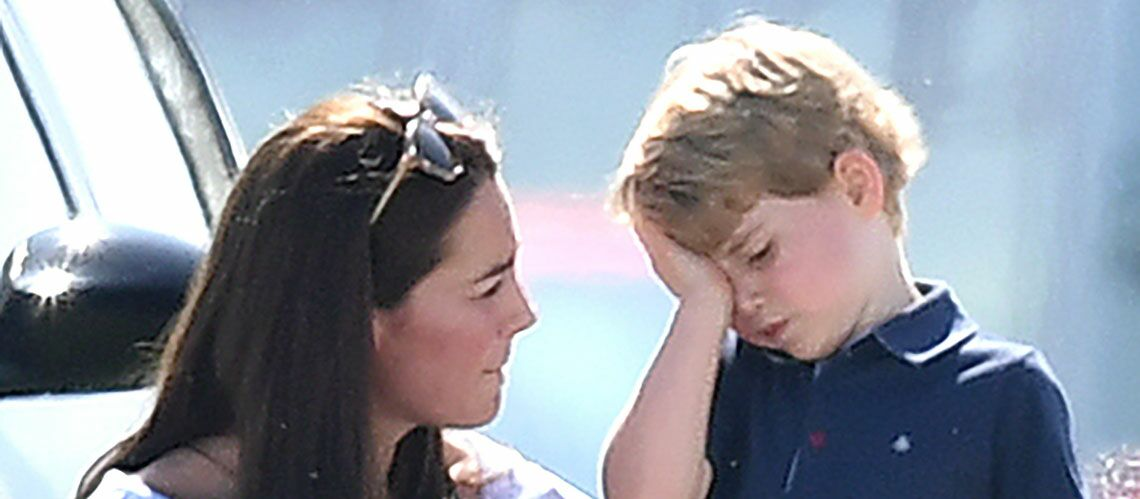 Le Prince George chahuté: le fils de Kate et William n'est pas à la fête