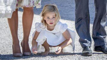 Plus turbulente que la fille de Kate Middleton, Leonore de Suède se roule par terre en plein baptême