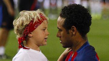 Mondial 2018: Neymar, un papa poule avec son fils Davi Lucca: «Être père… Un sentiment inexplicable»