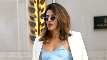 PHOTOS – Priyanka Chopra, la meilleure amie de Meghan Markle, dans une robe nuisette pour une soirée romantique avec Nick Jonas