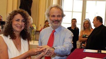 PHOTOS – François Hollande et Julie Gayet, Christian Estrosi: le plein de people au mariage de Franz-Olivier Giesbert