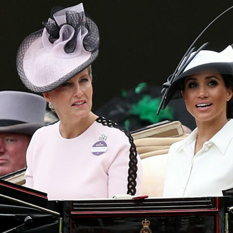 PHOTOS – Meghan Markle, plus stylée que jamais pour le Royal Ascot:  elle reste fidèle à la même marque